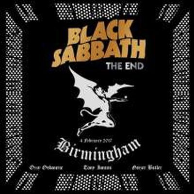 Black Sabbath - The End: Live In Birmingham (2CD)