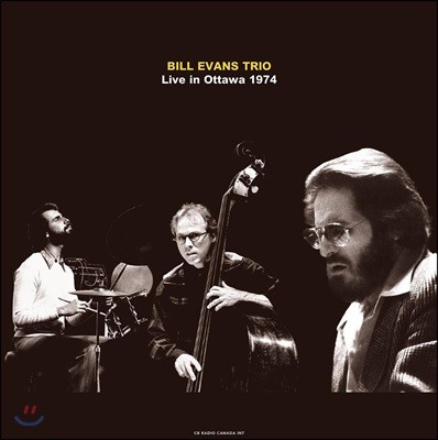 Bill Evans Trio (빌 에반스 트리오) - Live In Ottawa / Cb Radio Canada Int / 1974 [Deluxe Gatefold Edition LP]