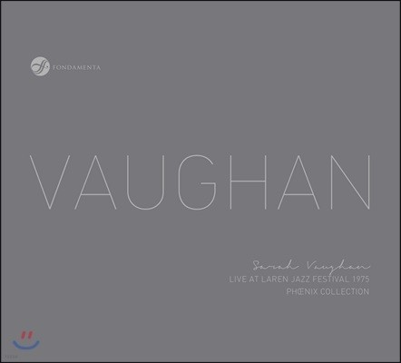 Sarah Vaughan - Live At Laren Jazz Festival 1975 사라 본 - 라렌 재즈 페스티벌 라이브