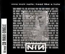 [수입] Nine Inch Nails - Head Like A Hole