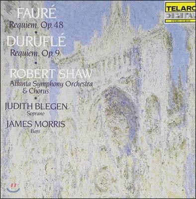 Robert Shaw 포레: 레퀴엠 Op.48 / 뒤뤼플레: 레퀴엠 Op.9 (Faure / Durufle: Requiem)