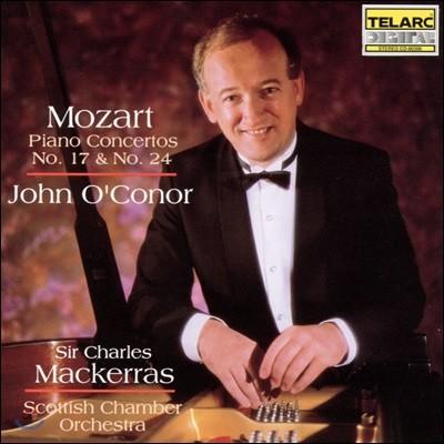 John O'Conor 모차르트: 피아노 협주곡 17번, 24번 (Mozart: Piano Concertos KV453, KV491)