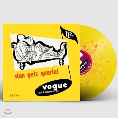 Stan Getz Quartet (스탄 게츠 쿼텟) - Stan Getz Quartet [옐로우+오렌지 스플래터 컬러 LP]