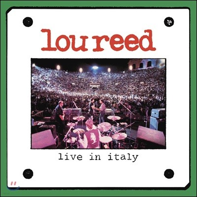 Lou Reed (루 리드) - Live In Italy (Remastered Edition)