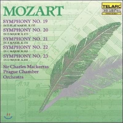 Charles Mackerras 모차르트: 교향곡 19, 20, 21, 22, 23번 (Mozart: Symphonies K.132, 133, 134, 162 & 181)