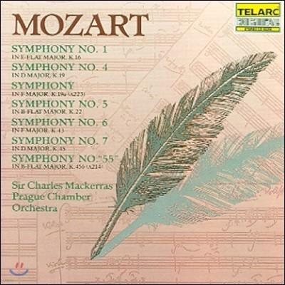 Charles Mackerras 모차르트: 교향곡 1, 4, 5, 6, 7, 55번 (Mozart: Symphonies K.16, 19, 19a, 22, 43, 45 & 45b)