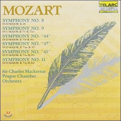 Charles Mackerras 모차르트: 교향곡 8, 9, 44, 47, 45, 11번 (Mozart: Symphonies K.48, 73, 81, 97, 95, 84)