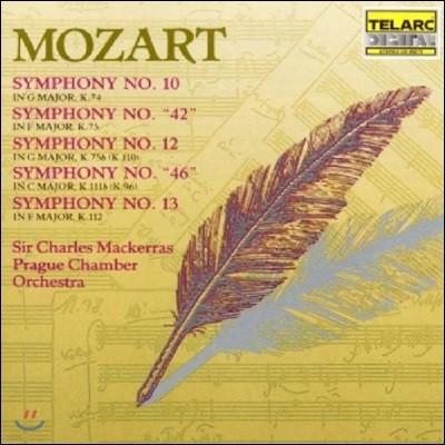 Charles Mackerras 모차르트: 교향곡 10, 46, 42, 12, 13번 (Mozart: Symphonies K.74, 75, 75b, 111b & 112)
