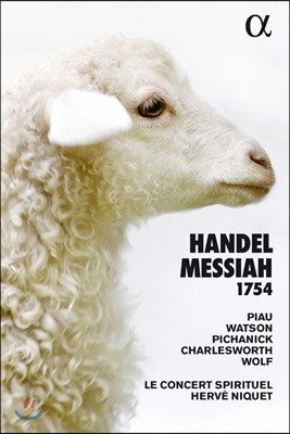 Herve Niquet 헨델: 오라토리오 '메시아' 전곡 - 1754년 버전 (Handel: Messiah 1754)