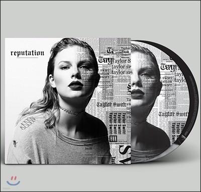 Taylor Swift (테일러 스위프트) - Reputation [픽쳐 디스크 2LP]