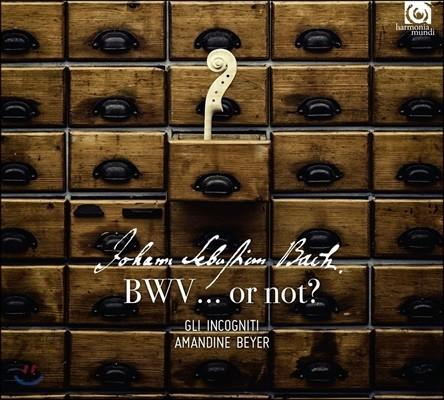 Amandine Beyer 위작의 바흐 (Johann Sebastian Bach - BWV… or not?)