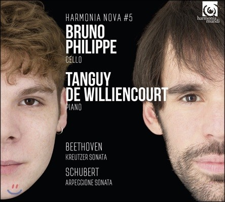 Bruno Philippe 베토벤: 크로이처 소나타 첼로 편곡 연주 / 슈베르트: 아르페지오네 소나타 (Beethoven: Kreutzer Sonata / Schubert: Arpeggione Sonata D.821)
