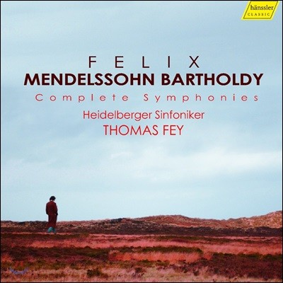 Thomas Fey 멘델스존: 교향곡 전집 - 현악 교향곡, 교향곡 1-5번 (Mendelssohn: Complete Symphonies)