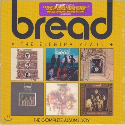 Bread (브레드) - The Elektra Years : Complete Albums Box (Deluxe Edition)