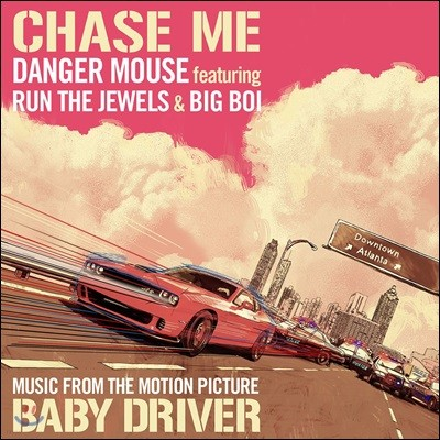 Danger Mouse / Run The Jewels / Big Boi (데인저 마우스 / 런 더 쥬얼스 / 빅 보이)- Chase Me [LP]