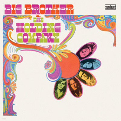 Big Brother & The Holding Company - Big Brother & The Holding Company (빅 브라더 앤 더 홀딩 컴퍼니 데뷔 앨범) [Mono Edition LP]