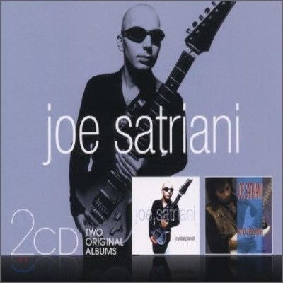 Joe Satriani - Crystal Planet + Not Of This Earth