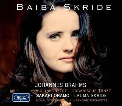 Baiba Skride 브람스: 바이올린 협주곡, 헝가리 무곡 전곡 [요아힘 편곡] 바이바 스크리데