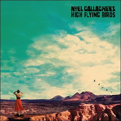 Noel Gallagher's High Flying Birds - Who Built The Moon? 노엘 갤러거 3번째 정규 앨범 [LP]