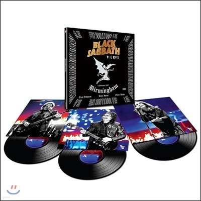 Black Sabbath (블랙 사바스) - The End: Live In Birmingham [3 LP]