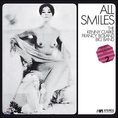 Kenny Clarke Francy Boland Big Band (케니 클락 프랜시 볼랜드 빅 밴드) - All Smiles [LP]