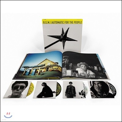R.E.M. - Automatic For The People [발매 25주년 기념 3CD+Blu-ray 디럭스 에디션]