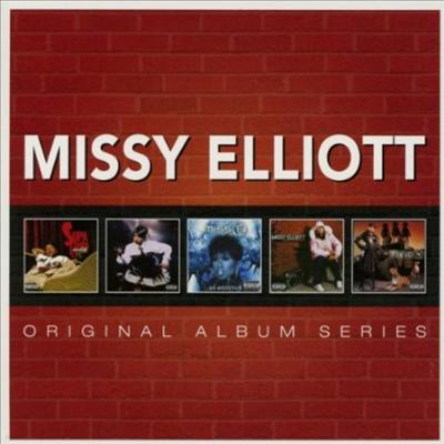 Missy Elliott - Original Album Series (Remastered)(Special Edition)(5CD Box Set)
