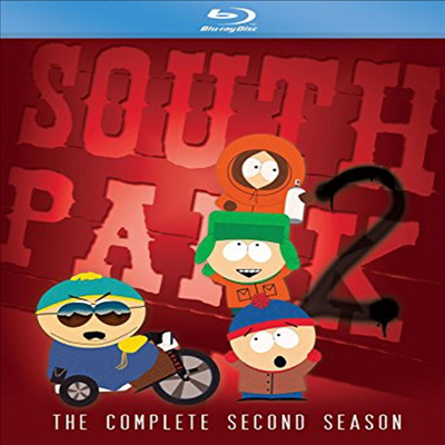 South Park: Complete Second Season (사우스 파크)(한글무자막)(Blu-ray)
