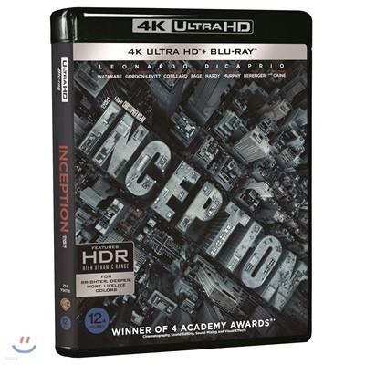 인셉션 (3Disc 4K UHD) : 블루레이