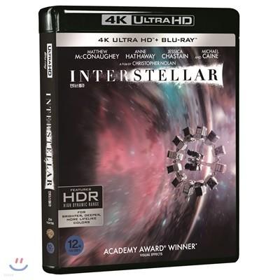 인터스텔라 (3Disc 4K UHD) : 블루레이
