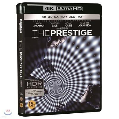 프레스티지 (3Disc 4K UHD) : 블루레이