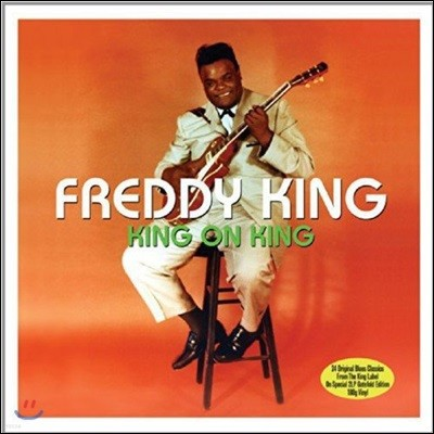 Freddie King (프레디 킹) - King On King [2 LP]