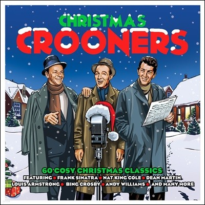 남성 재즈 보컬로 듣는 크리스마스 음악 (Christmas Crooners)