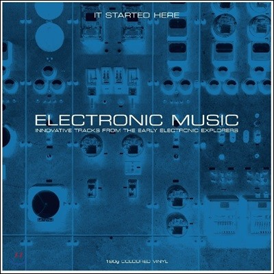 Electronic Music - It Started Here [그레이 컬러 2 LP]