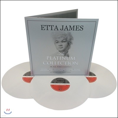 Etta James (에타 제임스) - The Platinum Collection [화이트 컬러 3 LP]