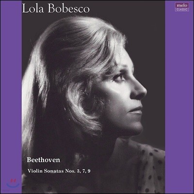 Lola Bobesco 베토벤: 바이올린 소나타 3, 7, 9번 '크로이처' - 롤라 보베스코 (Beethoven: Violin Sonatas) [2LP]