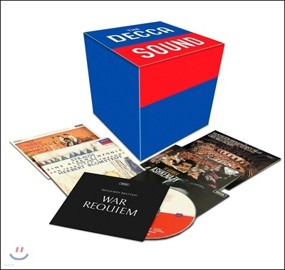데카 사운드 1집 - 전설의 레코딩 50CD 한정반 (The Decca Sound)