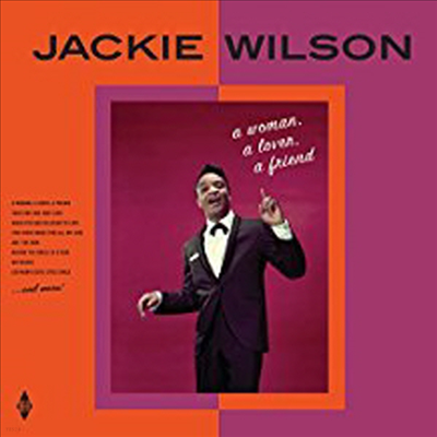 Jackie Wilson - A Woman, A Lover, A Friend (+ 2 Bonus Tracks) (Limited Edition)(180G)(LP)