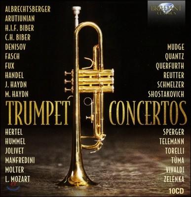 트럼펫 협주곡집 - 비버 / 파슈 / 헨델 / 푹스 / 하이든 / 훔멜 / 텔레만 외 (Trumpet Concertos)