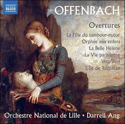 Darrell Ang 오펜바흐: 서곡 모음집 - 지옥의 오르페우스, 아름다운 엘렌, 파리의 생활 외 (Offenbach: Overtures)