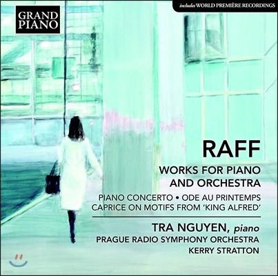 Tra Nguyen 요아힘 라프: 피아노 협주곡, 봄의 예찬, 알프레드 왕 광시곡 (Joachim Raff: Works For Piano And Orchestra)