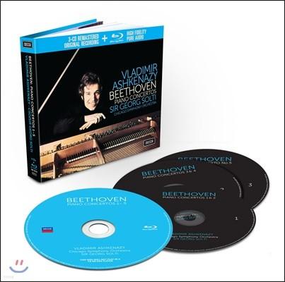 Vladimir Ashkenazy 베토벤: 피아노 협주곡 전곡집 - 블라디미르 아쉬케나지 (Beethoven: Piano Concertos)