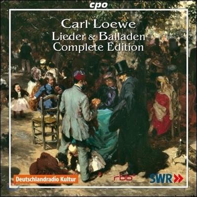 칼 뢰베: 가곡과 발라드 전곡집 (Carl Loewe: Lieder & Ballade - Complete Edition)