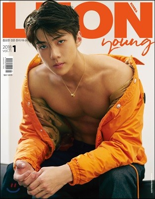 LEON KOREA 레옹 코리아 A형 (월간) : 1월 [2018]