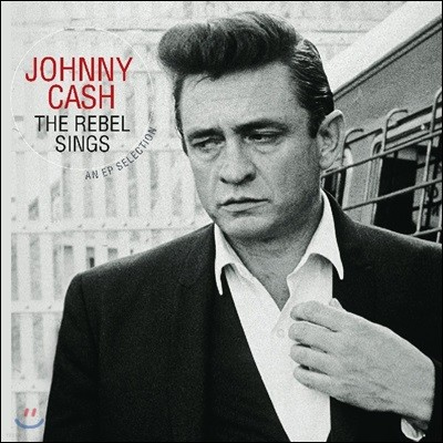 Johnny Cash (조니 캐시) - The Rebel Sings: An EP Selection [투명 레드 컬러 LP]