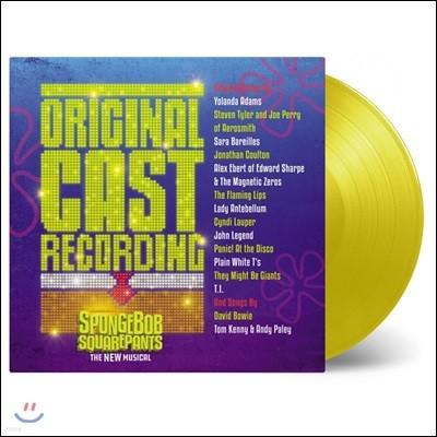 스폰지밥 스퀘어팬츠 - 뉴 브로드웨이 뮤지컬 사운드트랙 (Spongebob Squarepants New Musical OST) [투명 옐로우 컬러 2LP]