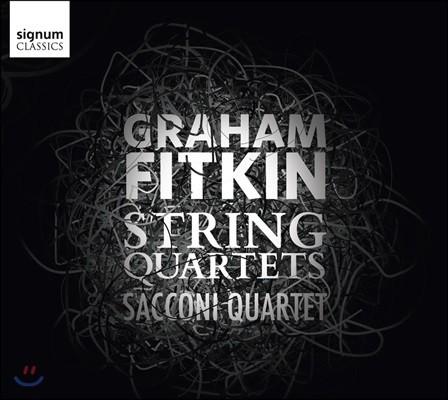 Sacconi Quartet 그레이엄 피트킨: 현악 사중주 작품집 (Graham Fitkin: String Quartets)