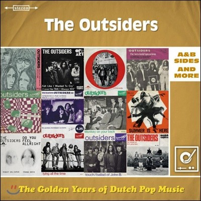 The Outsiders (아웃사이더스) - The Golden Years Of Dutch Pop Music : A&B Sides & More [2 LP]