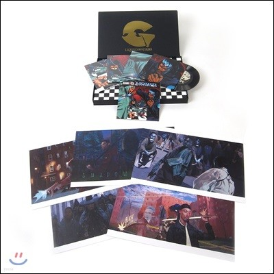 GZA/Genius (즈자/지니어스) - Liquid Swords [The Singles Collection 4 LP]