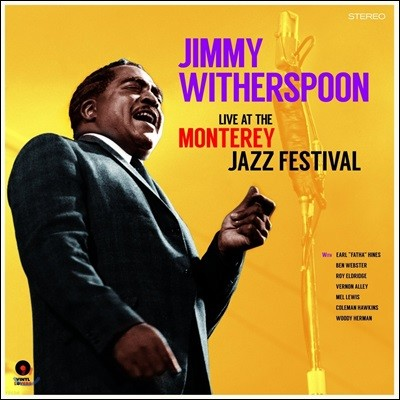 Jimmy Witherspoon (지미 위더스푼) - At The Monterey Jazz Festival [LP]